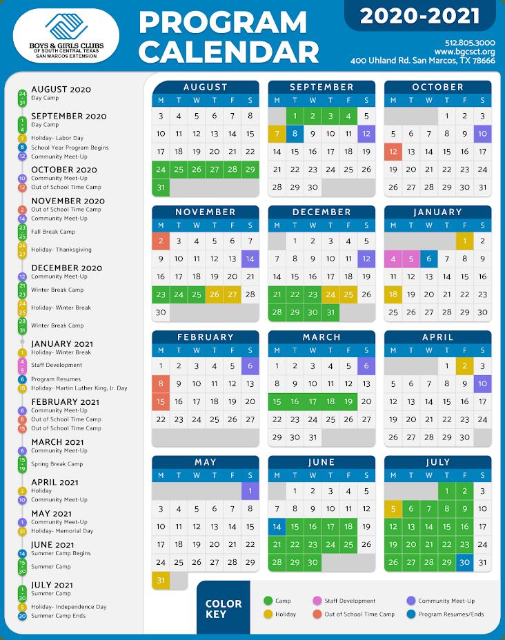 program-calendar